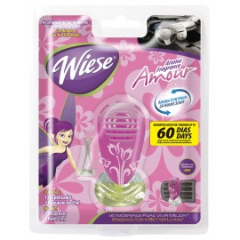 Rafraichisseur d'air pour automobile - parfum amour - 0,25 oz (7 ml) - Weise NARAU09