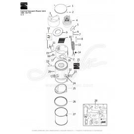 Kenmore Central Vacuum Kit 108-34733