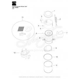 Kenmore Central Vacuum Kit 108-34804