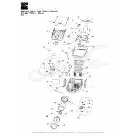 Kenmore Power-Mate Canister Vacuum Ebony 116.22271502C