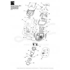 Kenmore Power-Mate Canister Vacuum 116.23404211C