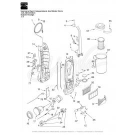 Kenmore Upright Vacuum 116.30104501C