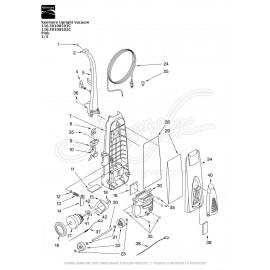 Kenmore Upright Vacuum 116.30108501C