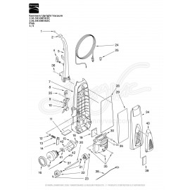 Kenmore Upright Vacuum 116.30108502C