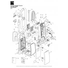 Kenmore Upright Vacuum Teal Metallic 116.30612000C