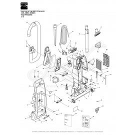 Kenmore Upright Vacuum Teal Metallic 116.30613004C