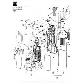 Kenmore Upright Vacuum - Silver 116.30622411C