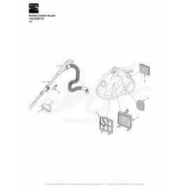 Kenmore Canister Vacuum 116.23156111C