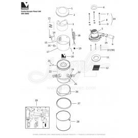 Viking Central Vacuum Kit 408-34800