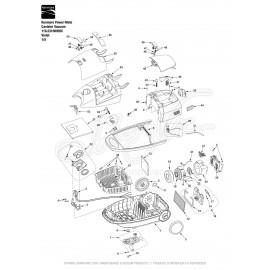 Kenmore Power-Mate Canister Vacuum 116.23108902C