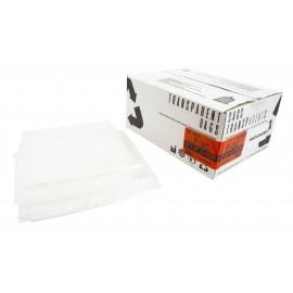 """Sacs à poubelle / ordures commercial - robuste - 42"""" x 48"""" (106,6 cm x 121,9 cm) - clair - boîte de 125"""