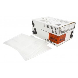 "Commercial Garbage / Trash Bags - Regular - 35"" x 50"" (88.9 cm x 127 cm) - Clear - Box of 100"