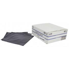 """Sacs à poubelle / ordures commercial - robuste - 42"""" x 48"""" (106,6 cm x 121,9 cm) - noir - boîte de 125"""