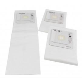 Sacs micro filtre HEPA trois plis de marque Canavac pk/3 pour aspirateur central