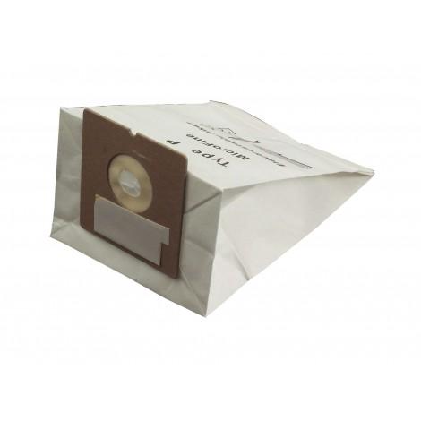 Sac microfiltre pour aspirateur Royal AiroPro 1000 type P - paquet de 7 sacs + 1 filtre - Envirocare 213