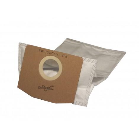 Square HEPA Microfilter Vacuum Bag for Ghibli T1 - Pack of 5 Bags