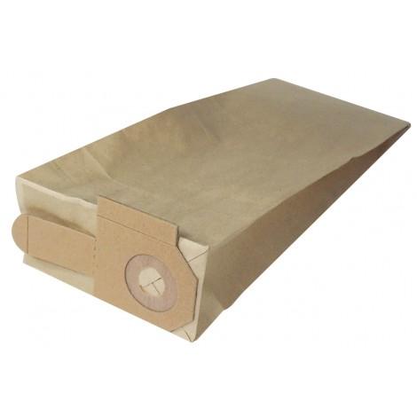 Sac en papier pour aspirateur Johnny Vac JV14 et JV16 - Dustbane Upright 355, 405 - paquet de 10 sacs
