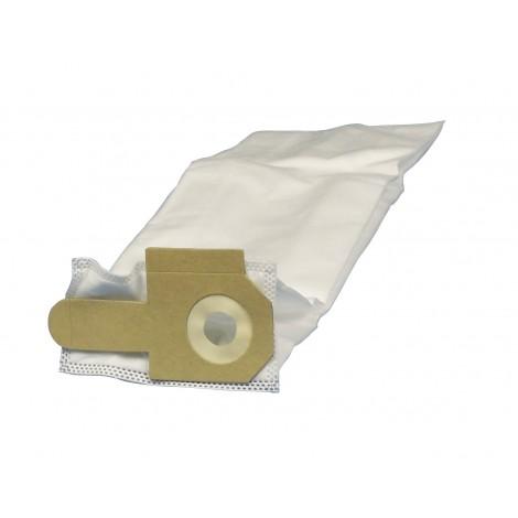 Sac microfiltre HEPA pour aspirateur vertical Johnny Vac JV14 et JV16 - Dustbane 355 et 405 - paquet de 5 sacs