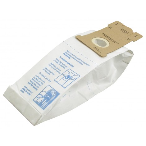 Sac microfiltre pour aspirateur vertical General Electric style GE-1 - paquet de 3 sacs - Envirocare 155