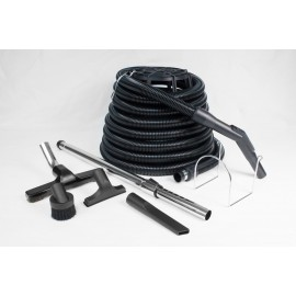 DEMO: CENTRAL VACUUM 30' HOSE AND ACCESSORIES BASIC KIT