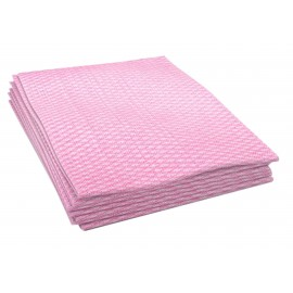 PINK ANTIMICROBIAL FOOD SERVICE TOWELS 150 ITMS PER BOX