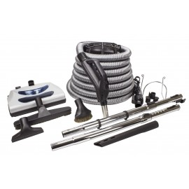 KIT FOR CENTRAL VACUUM WITH 30' HOSE, ACCESSORIES AND POWER NOZZLE PN11