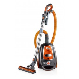 RHINO VAC BAGLESS CANISTER VACUUM WITH CYCLONIC TECHNOLOGY - 12 A WITH TURBO NOZZLE REPACK