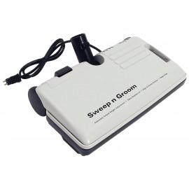 Sweep N Groom- balai électrique avec interrupteur ré-emballé