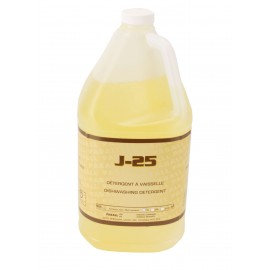 "J-25"" - LIQUID ACTIVE DETERGENT WITH DEGREASER - 25% CONCENTRATED - 4 L"