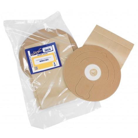 Sac en papier pour aspirateur Miracle Mate - paquet de 3 sacs