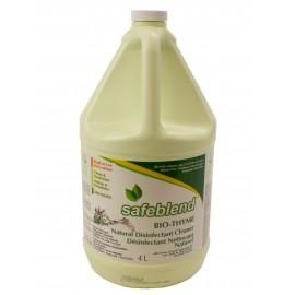 Nettoyant - désinfectant Bio-Thym - prêt à utiliser - 1,06 gal (4 L) - Safeblend SRBP G04