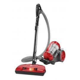 Aspirateur chariot, sans sac, brosses, outil spécial pour poils d'animaux et balai électrique Dirt Devil SD40035CDI