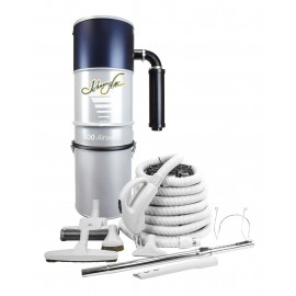 Central Vacuum, Johnny Vac, JV600LS500VF, with 30 ' Hose, Accessories and Installation Kit