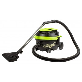 Commercial Canister Vacuum, Johnny Vac JVECOB, 3 gal Tank, 2 Chrome Wands, Tools