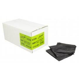 """Garbage Bags SAC2224N - Regular - 22"""" X 24"""" - Black - Box/500"""