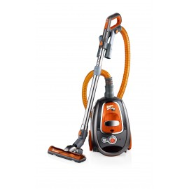 RHINO VAC BAGLESS CANISTER VACUUM WITH CYCLONIC TECHNOLOGY - 12 A WITH TURBO NOZZLE USED