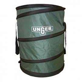 Portable Garbage Can - Green - 30 gal (136.3 L) - Nifty Nabber - Unger NB300