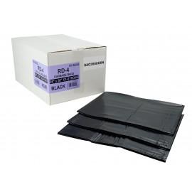 """Sacs à poubelle / ordures commercial - ultra extra robuste - 35"""" x 50"""" (88,9 cm x 127 cm) - noir - boîte de 100"""
