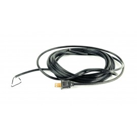 CABLE 17 AWG /2C BLACK 20'