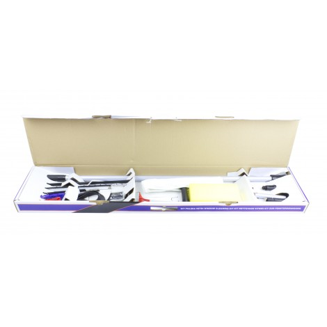 Used: Complete Kit With All the Tools for Window Cleaning