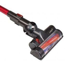 Démo : Aspirateur-balai sans fil , Johnny Vac JV222V, sans sac, léger, balai motorisé, pile lithium, accessoires