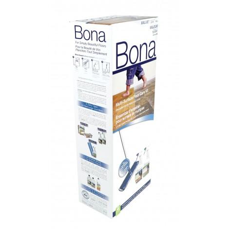 Ensemble d'entretien complet pour tous les types de planchers durs Bona SJ301