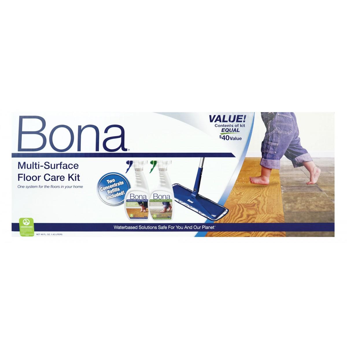 Multi Surface Hard Floor Care Kit Bona Sj301