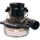 Moteur tangentiel 2 ventilateurs 120 v 96 amps Lamb/Ametek #116207-00 (B) USAGÉ