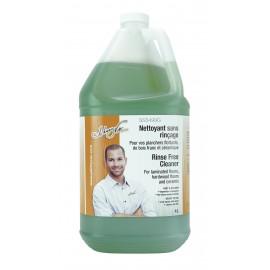 Nettoyant sans rincage - pour planchers flottants, de bois francs et céramiques - 1,06 gal (4 L) - prêt à utiliser - Johnny Vac