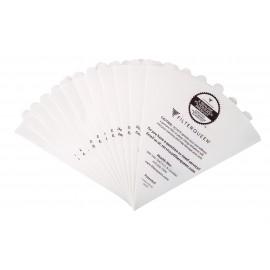 12 Sacs de papier en cône et 2 filtres moteurs pour aspirateur Filter Queen