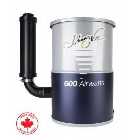 Compact Central Vacuum, Johnny Vac # JV600C, for condos or small houses