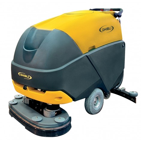 "Walk-Behind Scrubber - Battery powered - Ghibli - 34"" Cleaning Path - 10.0385.00 - Used"