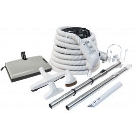 Ensemble pour aspirateur central - Boyau de 30' - 24 V 110 V - Plastiflex