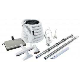 Ensemble pour aspirateur central - Boyau de 30' - Poignée pompe à gaz - 24 V 110 V - ValueFlex